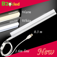 Portable Lamp Tube LED Portable Lanterns 0 3m USB Connector Switch Magnet Adsorption Bar Outdoor Camping