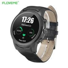 FLOVEME Bluetooth Smart Uhren SIM Anruf Erinnerung Passometer Sport Smartwatch GPS Intelligente Uhr Android IOS Tragbare Geräte