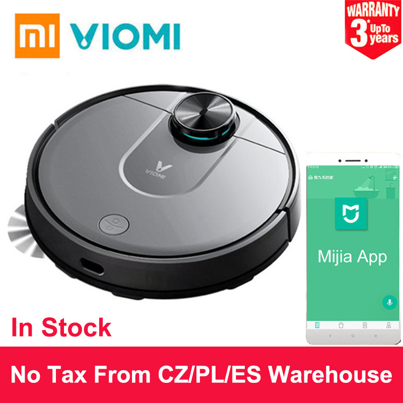 Xiaomi VIOMI V2 Mi Robot Vacuum Cleaner Intelligent Household Cleaner Automatic Sweeping and Mopping WiFi Connect