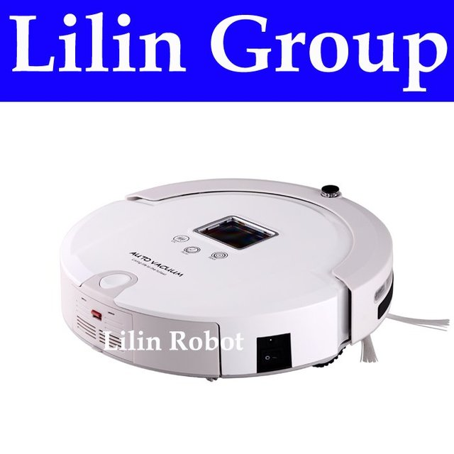 Multifunctional Vacuum Cleaning Robot (Sweep,Vacuum,Mop,Sterilize),LCD,Touch Button,Schedule Work,Virtual Wall,Home Automation