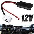 Для BMW E60 04-10 E63 E64 E61 1 шт. 12Pin 12В bluetooth аудио адаптер Aux кабель мини радио стерео Aux адаптер Mayitr