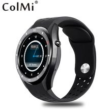Colmi smartwatch android 5.1 os 1 gb 16 gb real mtk6580 amoled 400*400 gps tracker reloj del ritmo cardíaco wifi smart watch