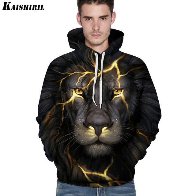 932fd67e5 Online Shop KAISHIRIL Men s 3D Hoodies Funny Sweatshirt Men Casual ...