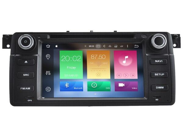 2 GB ram Android 8.0 octa core lecteur DVD de voiture pour BMW E46 M3 318i 320i 325i 328i auto multimédia stéréo SAT navi gps unités de tête