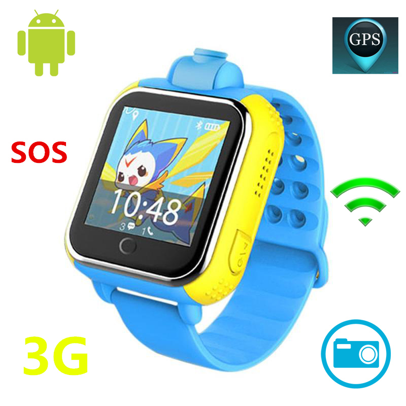 JM13 Kids 3G LBS WIFI GPS Smart Watch SOS Pedometer Tracker SmartWatch With HD 720P Camera For Android IOS Phone Locator Device new a6 smart watch for kids children gift gps tracker with sos button alarm clock gsm phone anti lost for android ios phone