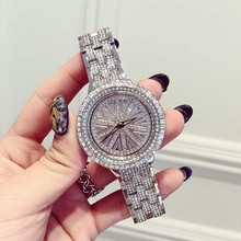 Top Brand Luxury Ladies Watch Rhinestones Crystal New Fashion Women's Watches horloges vrouwen Rotatable relojes mujer 2016