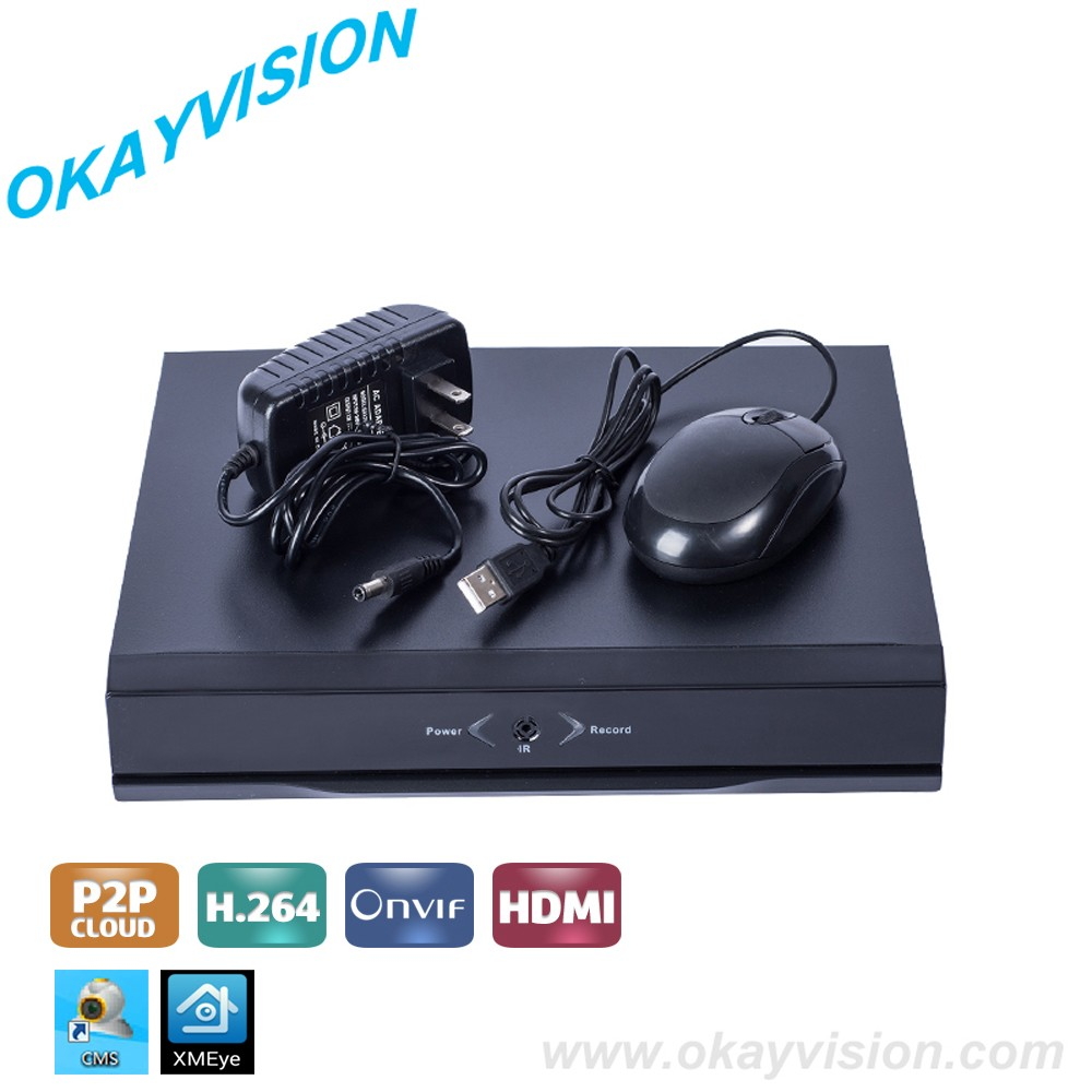 Xmeye HD NVR CCTV 16CH with 2HDD NVR Onvif H.264 HDMI 1080P Network Video Recorder for IP Camera NVR 16CH NVR support 4ch 5MP зеркало evoform primary 50х60 см со шлифованной кромкой by 0006