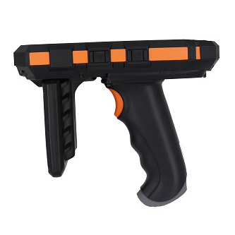 IP65 Rugged Mobile Handheld UHF RFID LF RFID Reader With Pistol Grip And Charging Station