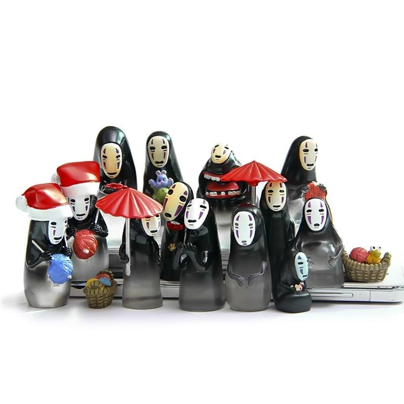 15 Stilovi Bez lica Slatke figure Studio Ghibli Miyazaki Hayao - Igračke figurice - Foto 2
