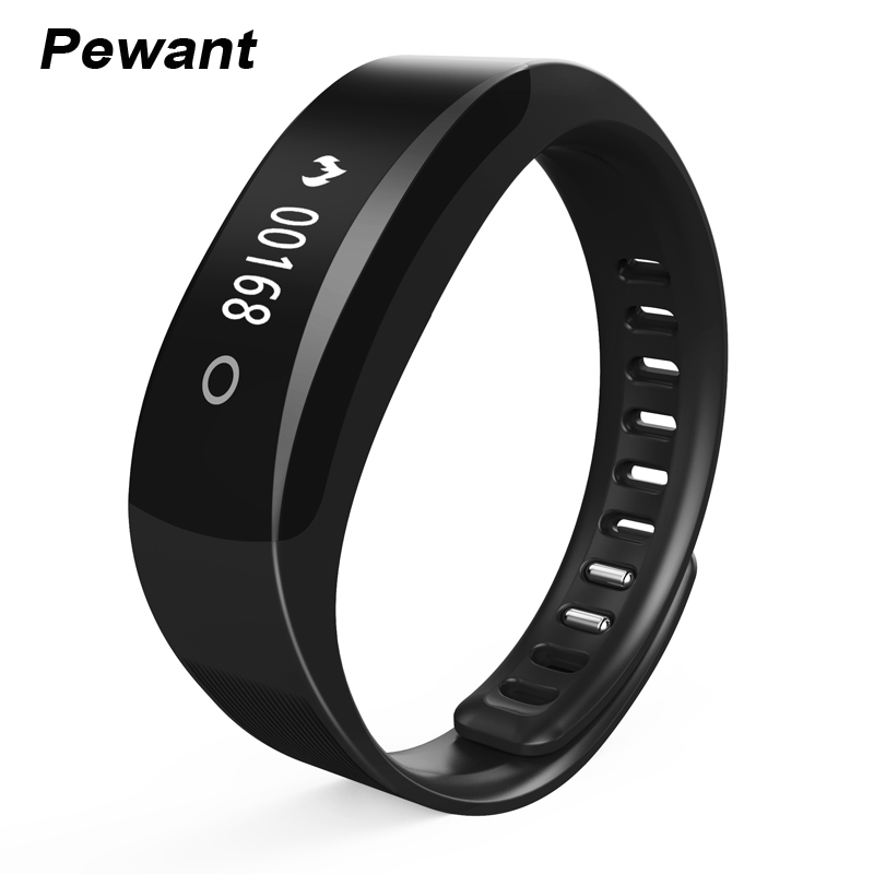 Pewant 0 91 OLED Blood Pressure Smart Wristband With Heart Rate Monitor Passometer Waterproof Smart Bracelet