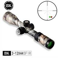 Bobcat King Optics BK 3 12X44 SFIR camouflage appearance tactical optical sight sniper hunting rifle aiming air gun riflescope