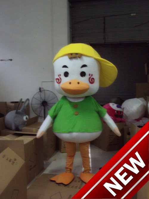 Hearty 2018 New Wholesale Free Shipping Ducks Plush Cartoon Character Costume Mascot Cosplay Custom Products Customized