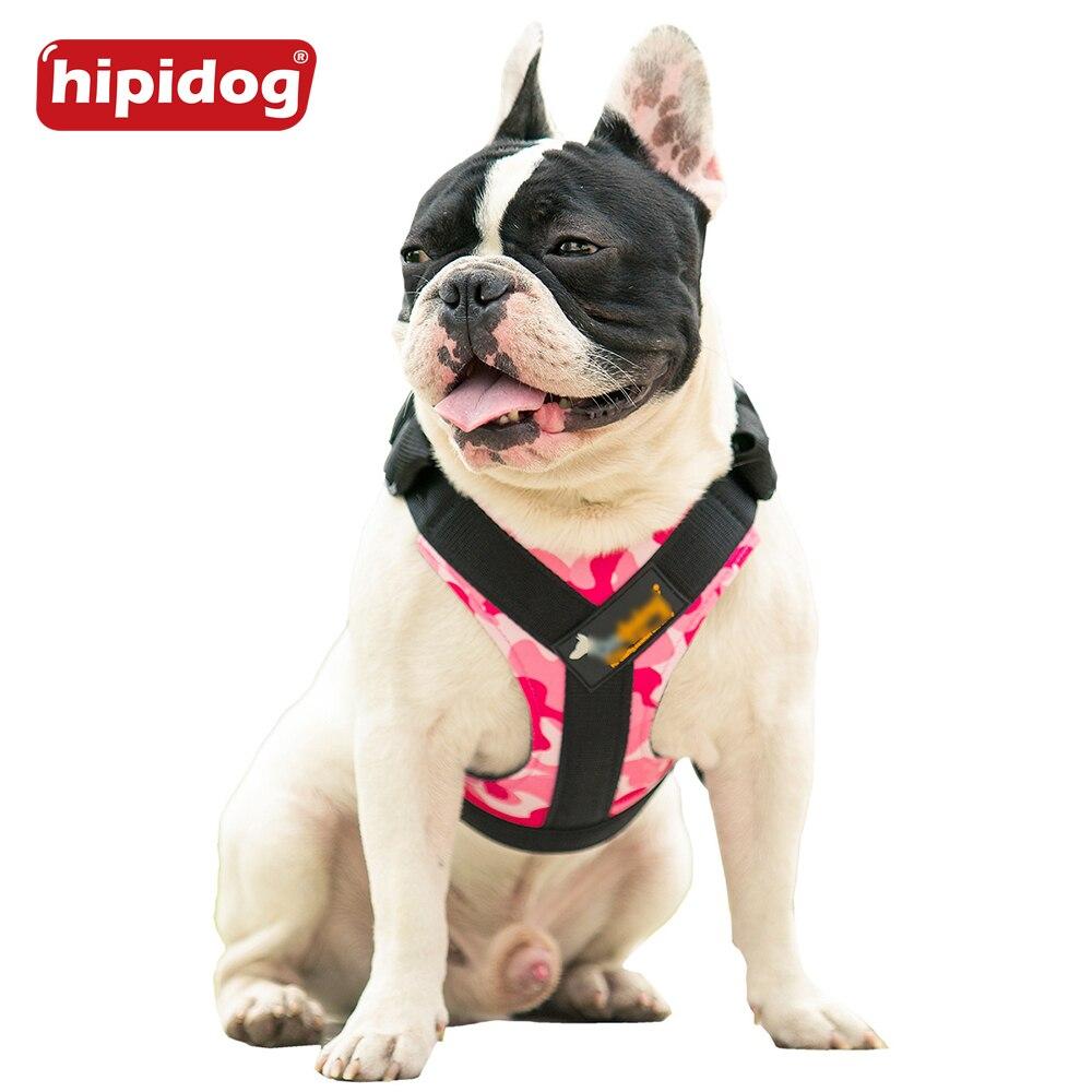 Hipidog Soft Padded Justerbar Hållbar Utomhus Hund Valp Nylon Mesh - Produkter för djur - Foto 2