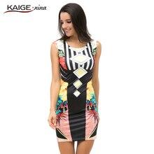 KaigeNina Новая Мода Горячие Продажа Женщины Платье Выпускного Вечера Коктейль Bodycon Платье Desigual 2161