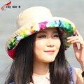 Шлем солнца уф защита женские летние пляжные шляпы вс-капот Chapeaux залить Les Femmes Mariage