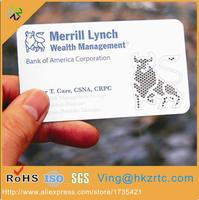China factory directly supply cheap custom laser cut metal name business card logo with CMYK printing