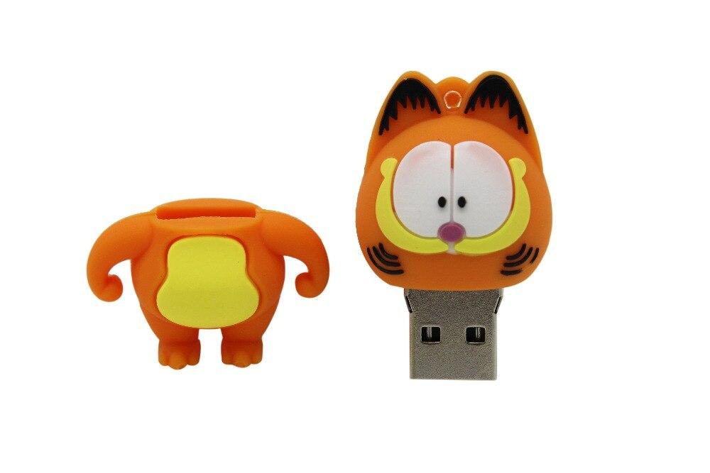 IsMyStore: 64GB 3 model Mini cute Garfield model usb flash drive 4GB 8GB 16GB 32GB  pendrive usb 2.0 cute gift