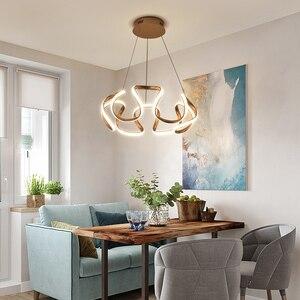 Image 4 - Kronleuchter led Moderne leuchten für hoome esszimmer wohnzimmer dekorative Küche restaurant hängen overhead kronleuchter lampe