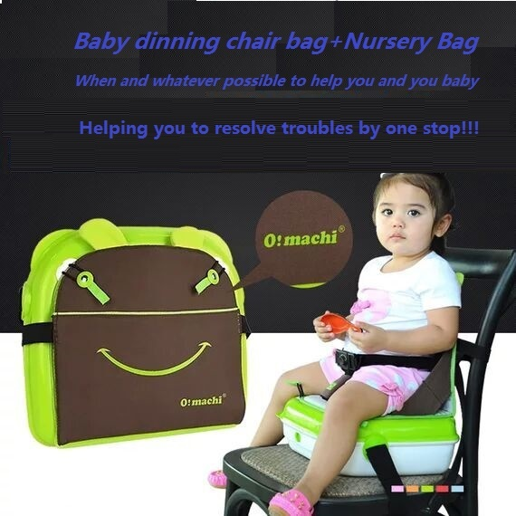 2017 diaper bag baby dinning chair bag mutifunctional nursery bag Portable Folding Baby chair Infant/Travel Bag For Mother