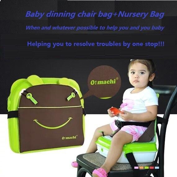 2017 diaper bag font b baby b font dinning chair bag mutifunctional nursery bag Portable Folding