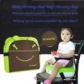2017 saco de fraldas saco berçário saco mutifunctional Portátil Dobrável Bebê cadeira de jantar do bebê cadeira de Criança/Saco de Viagem Para A Mãe