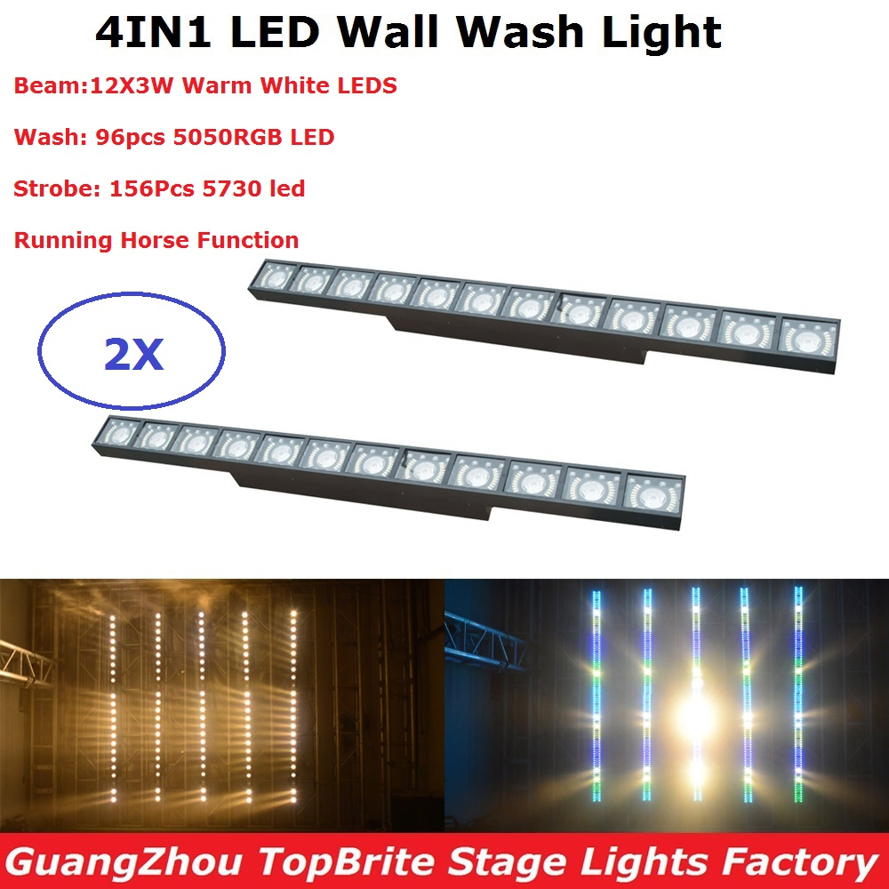profissional levou luz de lavagem de parede 12x3 w linha parede bar feixe de luz