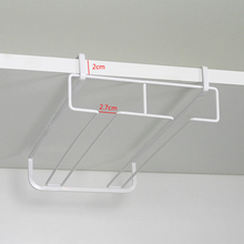 Wine Glass Holder Rack Double Row Wall Hanger