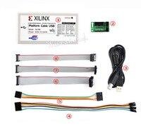 Platform Cable USB Programmer Compatible with XILINX FPGA CPLD DLC9G Debugger