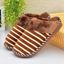 Hot Selling Warm Winter Home Slippers Fur Lovers Winter Slipper Women and Man Indoor Floor Home Shoes Shoes Brown Men Slippers