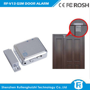 Image 2 - ドアロック SIM RF V11 ミニ独立した GPS トラッカードア磁気振動アラームアクティブリスニング振動アラーム RF V13