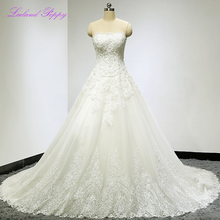 LCELAND POPPY Stunning A-line Wedding Dresses Sleeveless