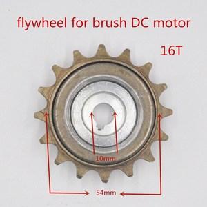 16 зубчатая велосипедная цепная Звездочка для электродвигателя MY1016Z 16 T маховик для MY1018 настраиваемый мотор среднего привода 16 T Freewheel