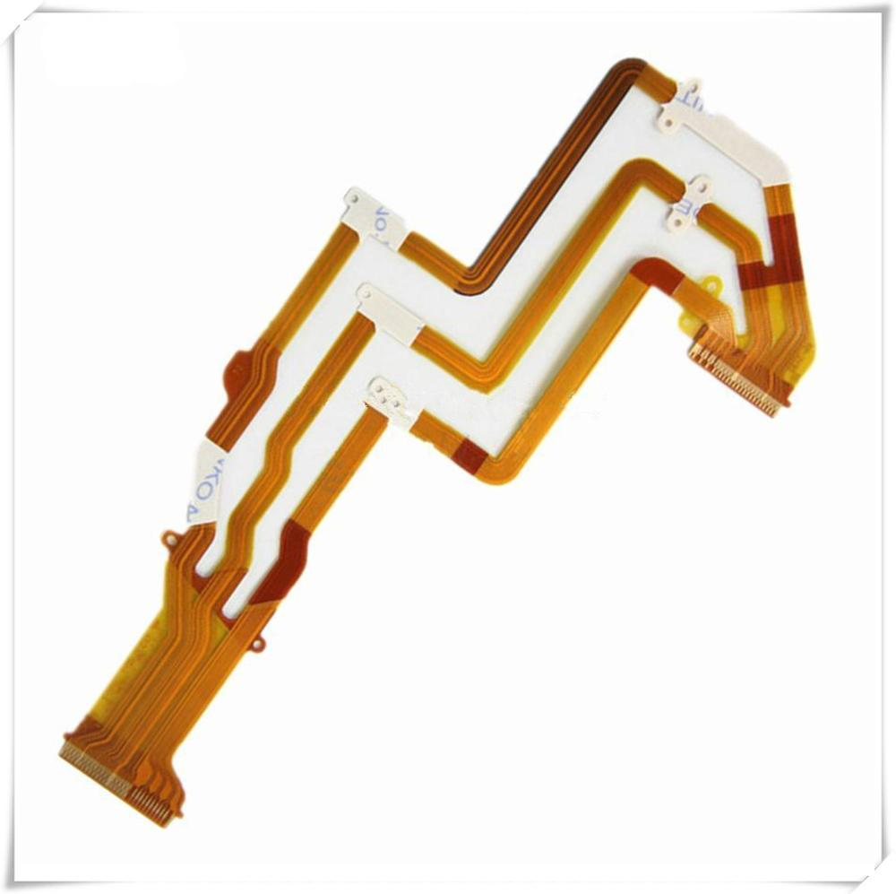 3PCS LCD hinge rotate shaft Flex Cable for Sony HDR-PJ530E PJ540E PJ610E PJ620E PJ670E PJ530 PJ540 PJ610 PJ620 PJ670 Video Camer