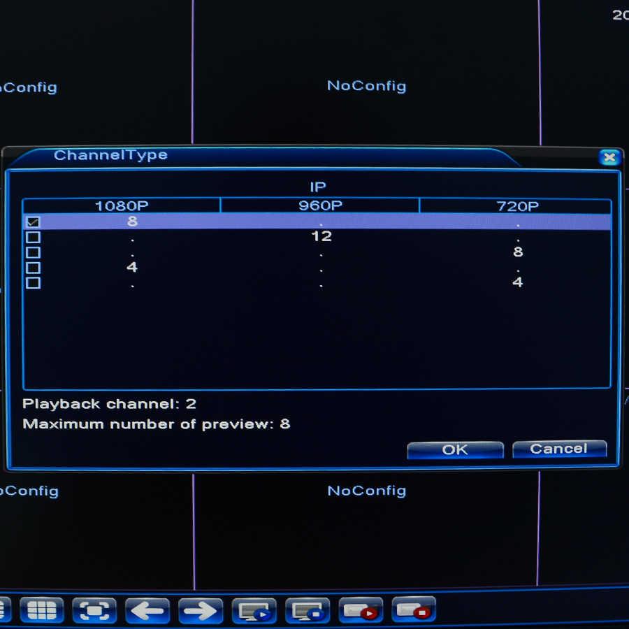 BESDER мини NVR Full HD 1080 P рекордер 4 канала 8 каналов безопасности CCTV NVR 1080 P 4CH 8CH ONVIF 2,0 для ip-камеры системы 1080 P