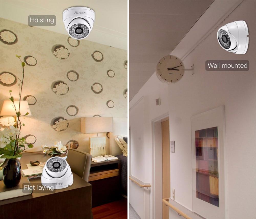 HTB1G7jPbMHqK1RjSZJnq6zNLpXa6 AZISHN Full HD 3MP SONY IMX307 sensor POE Security Dome Camera ONVIF H.265 IR Night Vision Outdoor Waterproof Surveillance Cam