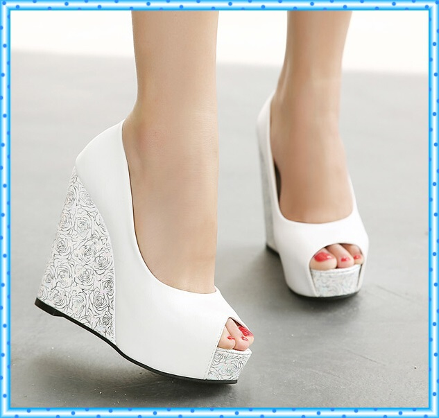 High Heel Sandals Platform Shoes Summer Sandals Flip Flops Women Slippers Wedges Sandalias Femininas open toe women pumps D93