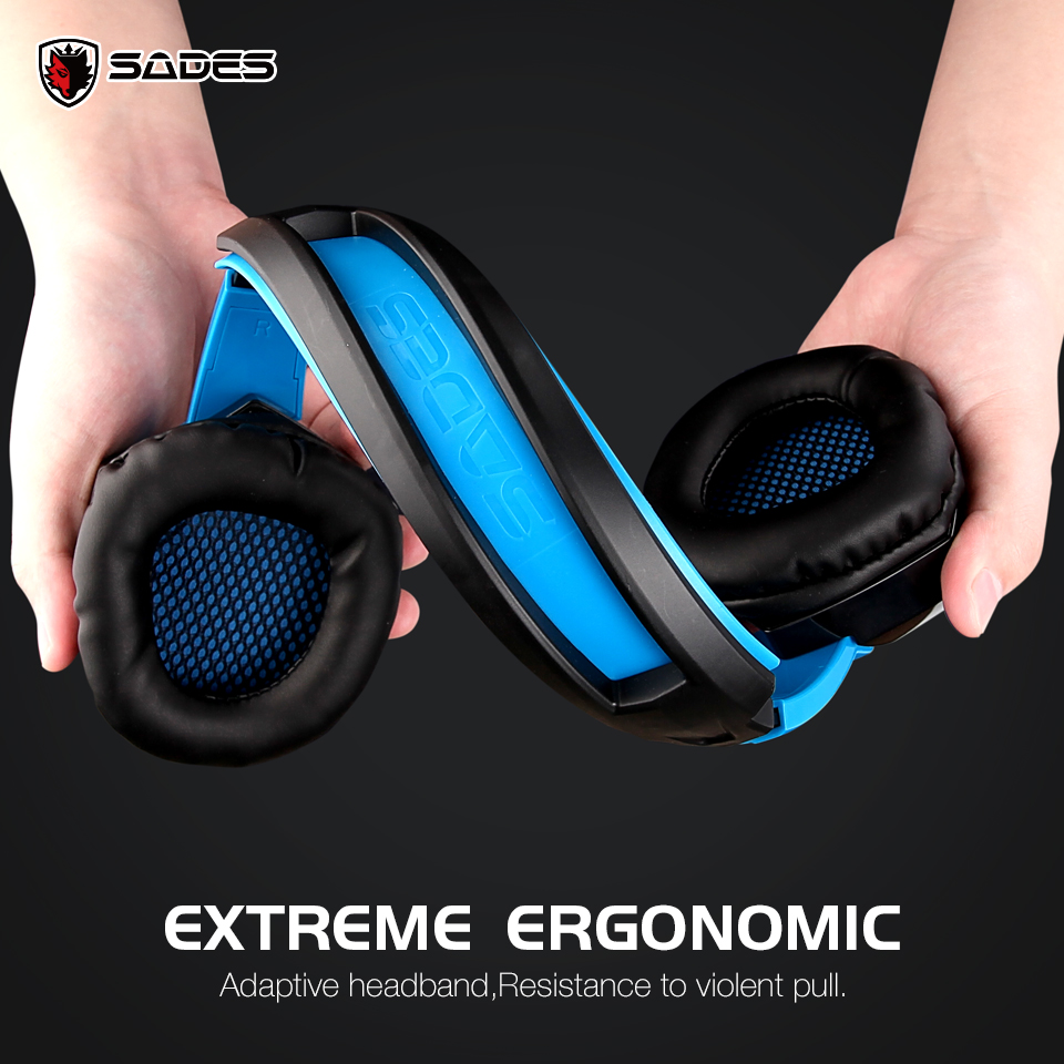 Originaal SADES SA-920 mitme platvormi kõrvaklappide kõrvaklapid - Kaasaskantav audio ja video - Foto 6