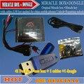 Caixa + chave Milagre milagre com cabos (1.88 atualização quente) para mobilephones china Unlock + Reparação desbloquear livre grátis