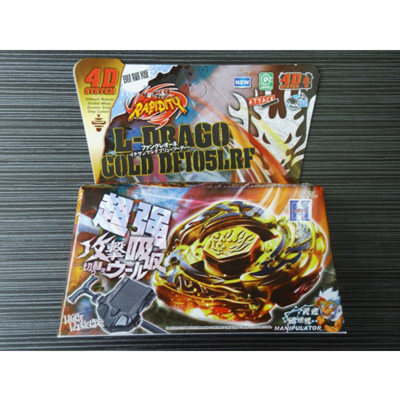 Explosive Beyblade Burst with Launcher and Sticke5 Detonating Gyro Steel War Spirit Childrens Toys Limited Edition Gold Damage
