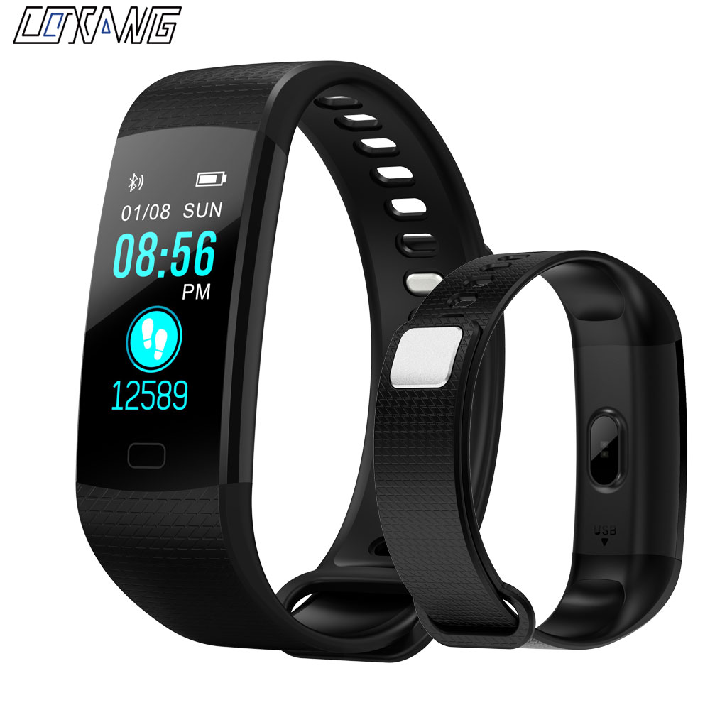 Y5 Smart Band Blood Pressure Measurement Watch Pulsometer Heart Rate Monitor Cardiaco Smart Bracelet Fitness Tracker Wristband hustler black diamond туфли на высокой шпильке декорированы черными кристаллами