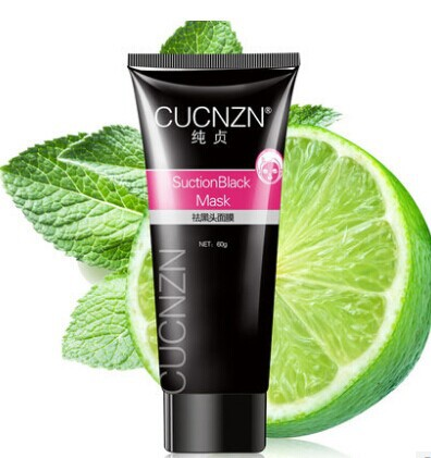 blackhead remover,Tearing style Deep Cleansing purifying peel off the Black head,acne treatment,black mud face mask 60g