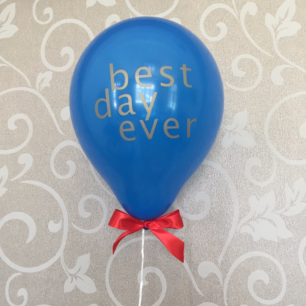 American Wedding Group.Royal Blue Red American Wedding Party Decoration Balloons Best Day