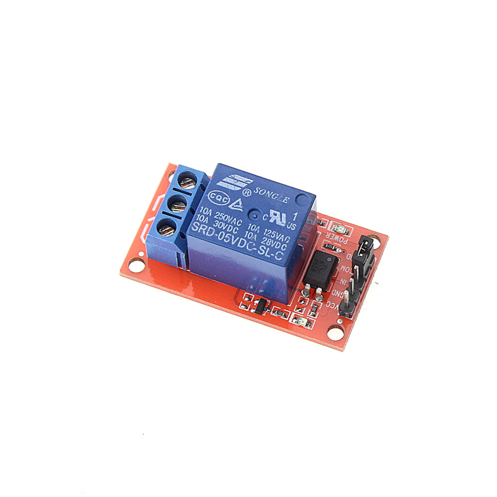 Smart Electronics 5V One 1 Channel Relay Module Board Shield with Optocoupler Support High and Low Level Trigger 8 channel 5a high level trigger solid state relay module board 3 32v power supply and trigger voltage