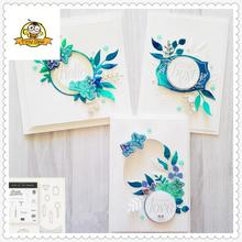 New Flower Word Dies Cut Metal Cutting Dies and Stamps Sets Scrapbooking Clear Stamp and Dies For Card Making Stencil Dies gjcrafts love notes framelits clear stamp and dies for card making scrapbooking stencil metal die cut dies and stamps sets