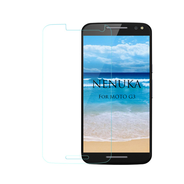 9H 0.3mm 2.5D Preminum Tempered Glass Screen Protector for Motorola Moto G G2 G3 G4 Plus X X2 Play Moto G Gen 3