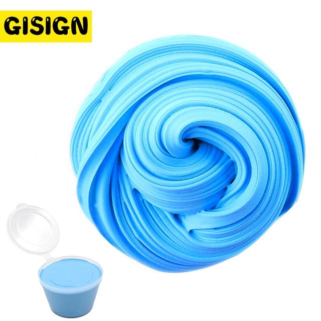 Slime Slime engraçado Caixa de Algodão DIY Argila 3D Fofo Floam Fornece Alívio do Estresse Antistress Polímero Plasticina Artesanal Lama Brinquedo