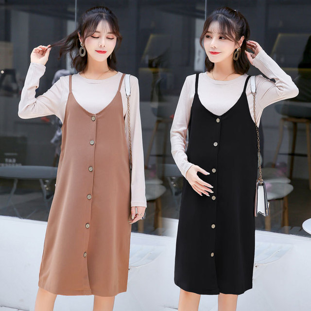 b8990a214c425 US $25.52 31% OFF|Aliexpress.com : Buy Dresses For Pregnant Maternity  Dresses Clothes For Pregnant Women Pregnancy Clothing Stretch Cotton  Pregnant ...