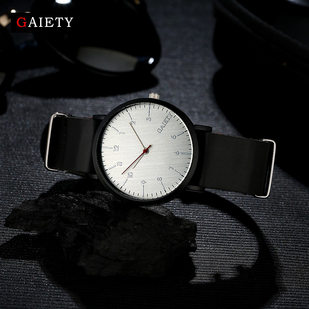 graphic square leather armani watches index exchange watch men white dial