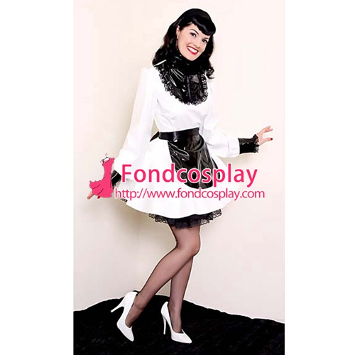 PVC lockable Sissy Maid Dress vinyl Uniform Tailor Made[G1553]-in Boys Costumes from Novelty u0026 Special Use on Aliexpress.com | Alibaba Group  sc 1 st  AliExpress.com & PVC lockable Sissy Maid Dress vinyl Uniform Tailor Made[G1553]-in ...