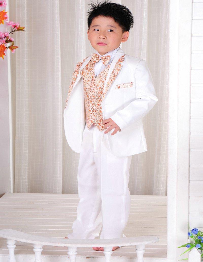 White boys suits baby suit Children tuxedo Child suit ...